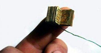 En küçük el yazması Kuran-ı Kerim Kayseri'de sergilenecek