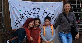 İstanbul'da Hıdırellez şenliğinde vatandaşlar eğlendi