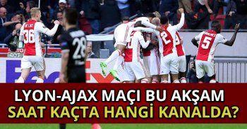 Lyon-Ajax maçı bu akşam  saat kaçta hangi kanalda? Kaç kaç? | Şifresiz mi yayınlanacak?