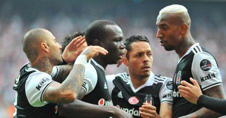 Beşiktaş Kasımpaşa'yı 4-1 mağlup etti, puan farkını 5'e çıkardı