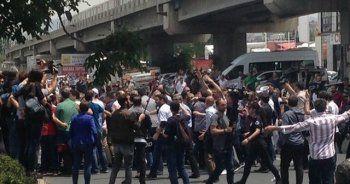 CHP'nin adalet yürüyüşü sırasında arbede; polis müdahale etti