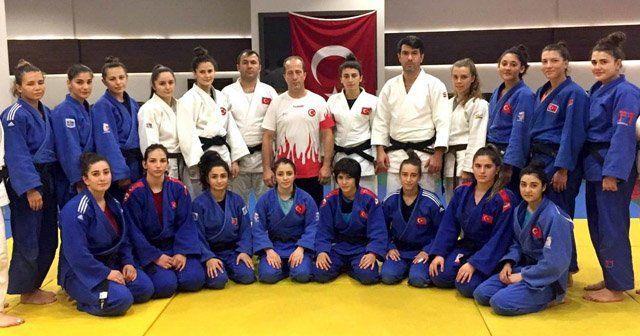 Milli Judocuların şampiyona hazırlığı