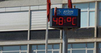 Aydın'da 44 yıllık sıcaklık rekorları kırıldı