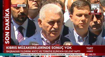 Başbakan Yıldırım: KKTC ve Türkiye elinden geleni yaptı