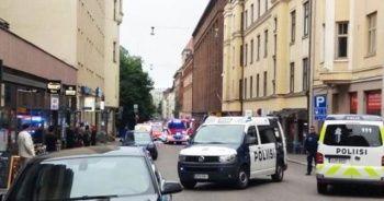 Helsinki'de araç kalabalığa daldı, 1 ölü 4 yaralı