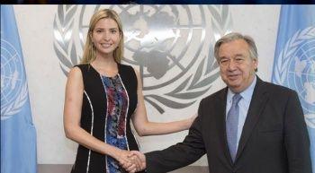 Ivanka Trump ile Guterres arasında görüşme