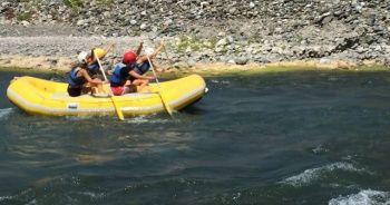 Rafting Türkiye Şampiyonası ilk gün yarışları