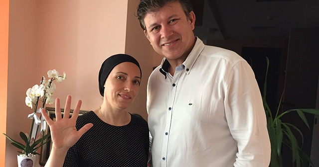 2 ayda bir kansere yakalandı, savaşı kazandı