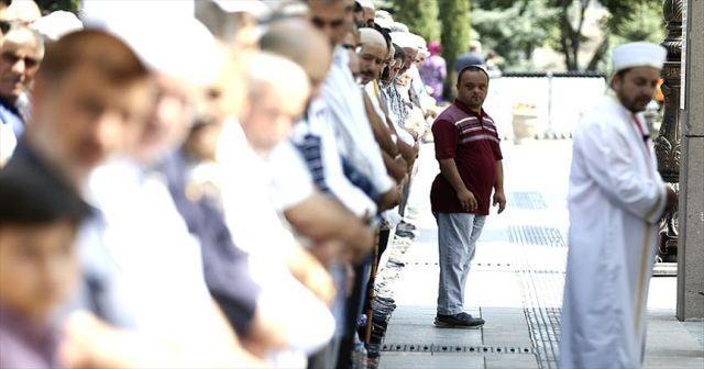 Başkentte Arakan için gıyabi cenaze namazı kılındı