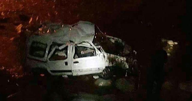 Ehliyetsiz gezmeye çıkan çocuklar kaza yaptı: 2 ölü, 3 yaralı