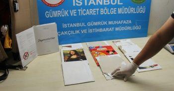 Atatürk Havalimanında değeri 575 bin TL olan 2 kilo 304 gram kokain ele geçirildi