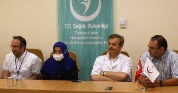 Bursa'da devlet hastanesinde ilk böbrek nakli heyecanı