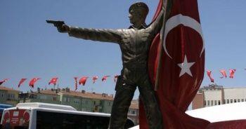 Ömer Halisdemir heykeli kaldırılarak değişiklik için sanatçıya iade edildi