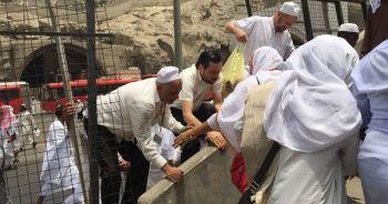 Türk hacılar Arafat heyecanı yaşıyor