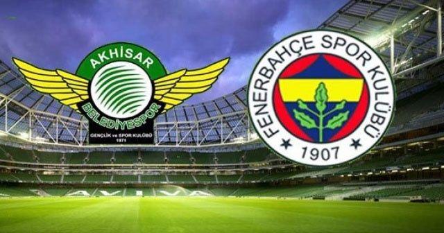 Akhisarspor Fenerbahçe Canlı İzle | Akhisar F.Bahçe Bein Sports İzleme | CANLI MAÇ SKORU
