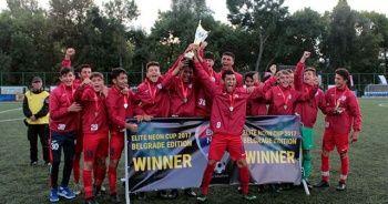 Altınordu U16, Elite Neon Cup'ta şampiyon oldu