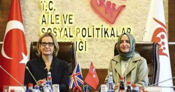 Bakan Kaya, Birleşik Krallık İçişleri Bakanı ile görüştü