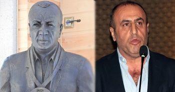 Fatih Terim'le tartışan Selahattin Aydoğdu'nun heykeli dikildi