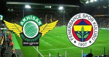 Fenerbahçe ile Akhisarspor 11. randevuda