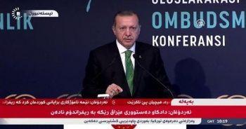 Kuzey Irak'taki kanallar Erdoğan'ın konuşmasını canlı yayınladı