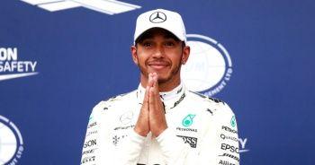 Lewis Hamilton zirvede