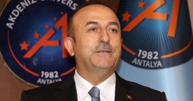Çavuşoğlu'ndan kritik referandum açıklaması