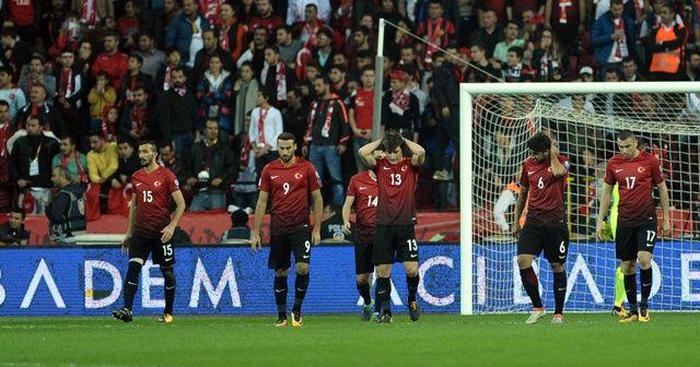 Türkiye'nin Dünya Kupası hayali sona erdi