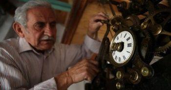 118 yıllık saat kulesinin bakımı Hasan ustaya emanet
