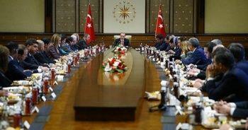 Cumhurbaşkanı Erdoğan, ABD heyeti ile görüştü