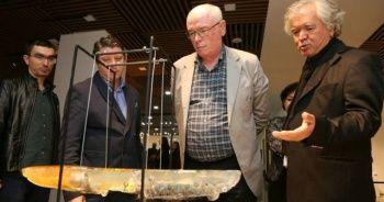 Festivalin eserleri Çağdaş Sanatlar Galerisi'nde sergileniyor