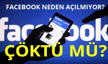 Facebook Neden Açılmıyor?   Whatsapp Neden Açılmıyor   Facebook Çöktü Mü?