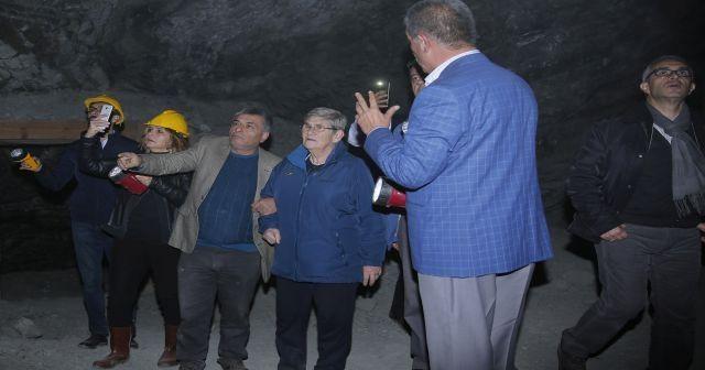7 bin yıllık kaya tuzu mağarası Türkiye'nin tuz ihtiyacını karşılıyor