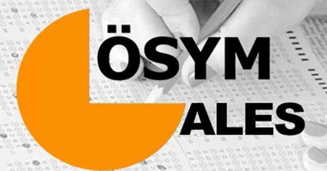 ALES sınav giriş yeri belli oldu TIKLA ÖĞREN | 2017 ALES sınav yerleri sorgulama