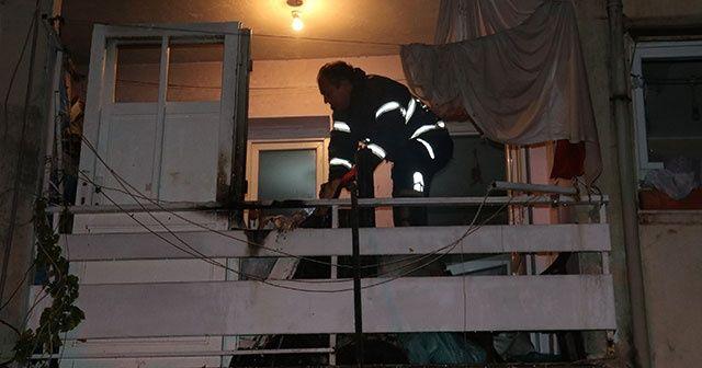 Alkollü şahıs evini yaktı
