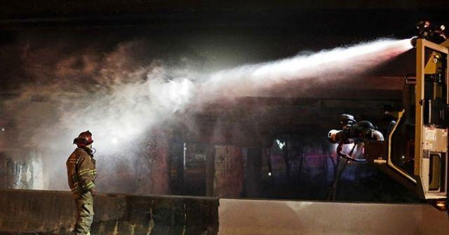 Batum'daki otel yangını elektrik kontağından çıkmış