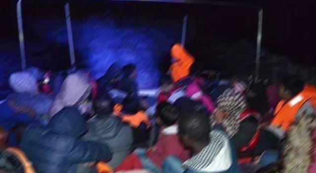 İzmir'de 129 kaçak göçmen yakalandı