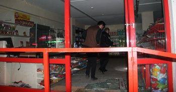 Arabayı çalan hırsızlar marketi de soydular!