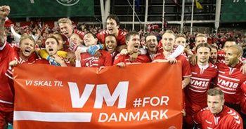 Danimarka finallere gitmeye hak kazandı