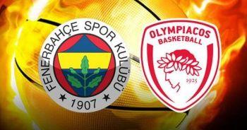 Fenerbahçe-Olympiakos Maçı Ne Zaman | Fenerbahçe Doğuş-Olympiakos hangi kanalda, saat kaçta?