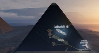 Mısır'da Büyük Giza Pramidi'nde gizli bir bölme keşfedildi
