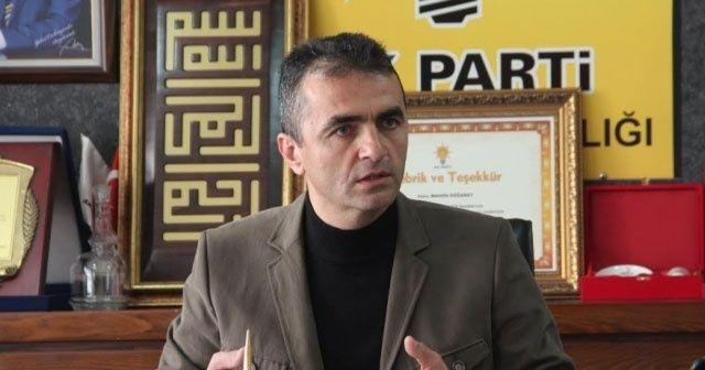 AK Parti Bolu İl Başkanı Doğanay istifa etti