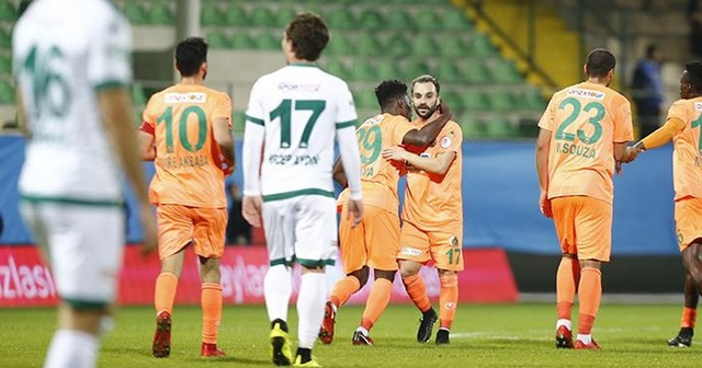 Alanyaspor - Giresunspor maçın özeti ve golleri İZLE | Alanyaspor Giresunspor