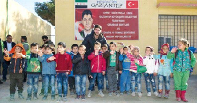 Cerablus Türkiye'nin himayesinde yaralarını sardı