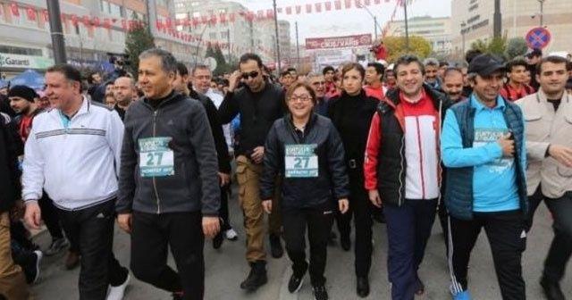 Gaziantep'te 'Kurtuluş Koşusu'