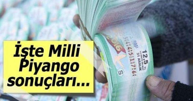Milli Piyango Çekiliş Sonuçları açıklandı mı? Milli Piyango sonuçları bilet sorgulama sayfası | Amorti sonuçları