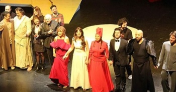 'Tahir ile Zühre' müzikali Zorlu PSM'de (Off-Broadway)