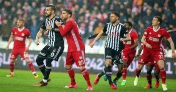 Beşiktaş deplasmanda DG Sivasspor'a 2-1 yenildi