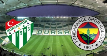 Bursaspor Fenerbahçe Maçı Özeti golleri izle | Bursaspor FB maçı kaç kaç bitti