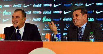 Dursun Özbek: 'Fatih Terim'i Galatasaray'da gördüğümüz için çok mutluyuz'