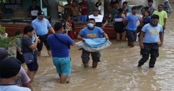 Filipinler'de ölü sayısı 180'e yükseldi